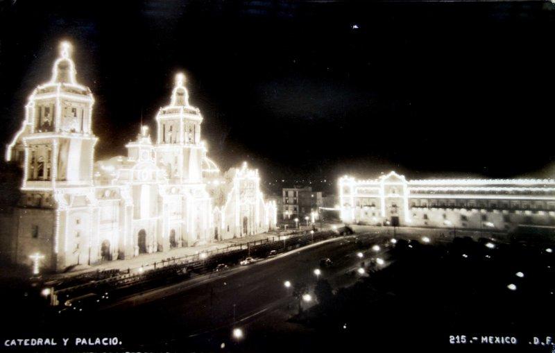 La Catedral y el Palcio ( Circulada el 20 de Septiembre de 1948 ).