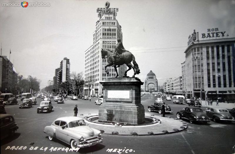 Paseo de La Reforma.