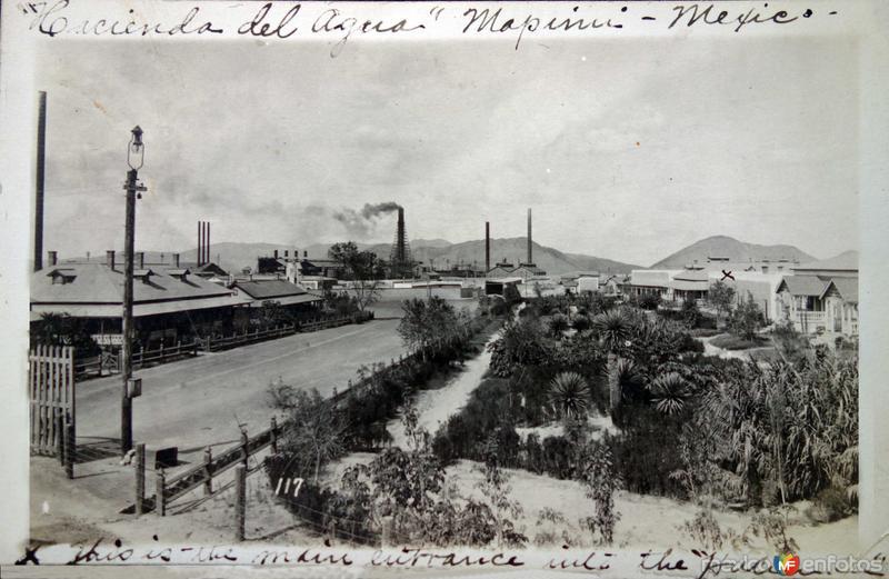 La Hacienda del Agua .