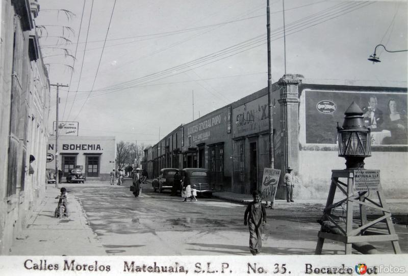 Calle Morelos.