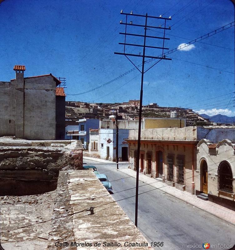 Calle Morelos ( 1956 ).