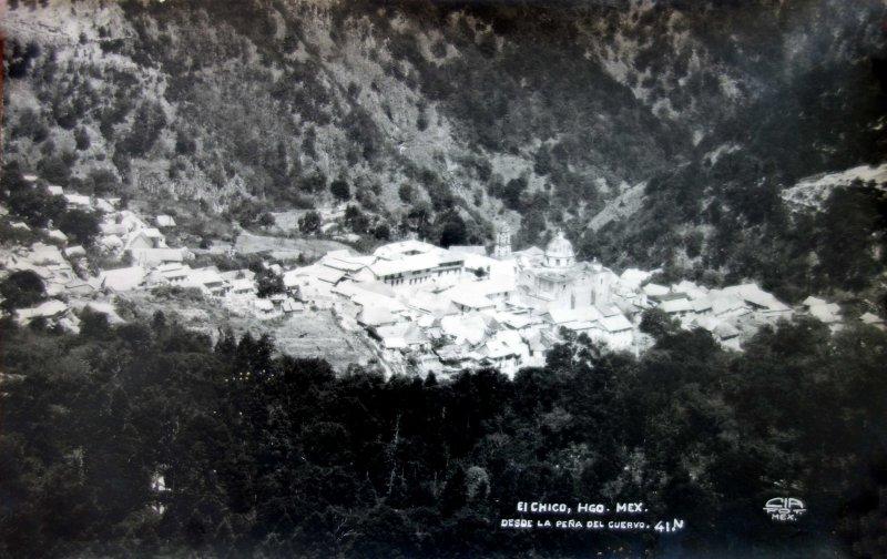 Escena desde La Pena de el cuervo.