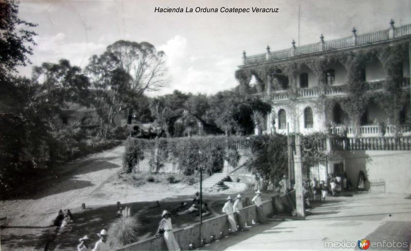 Hacienda La Orduna Coatepec Veracruz.