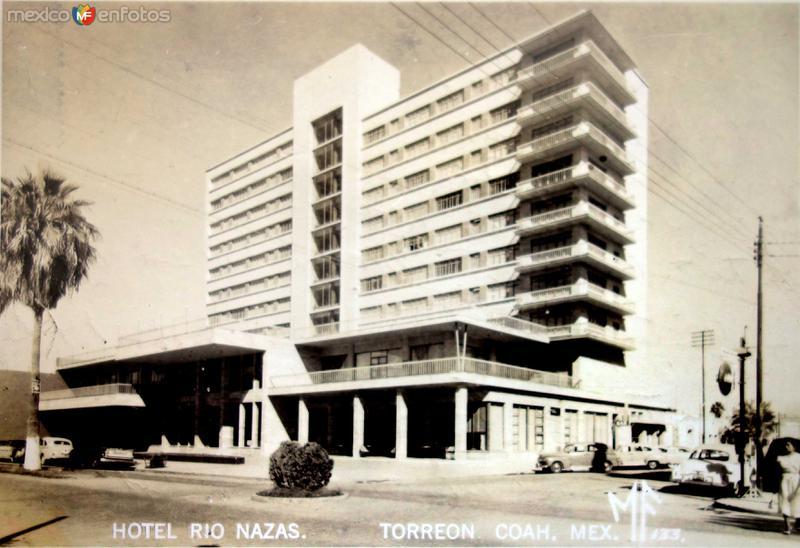 Hotel Rio Nazas.