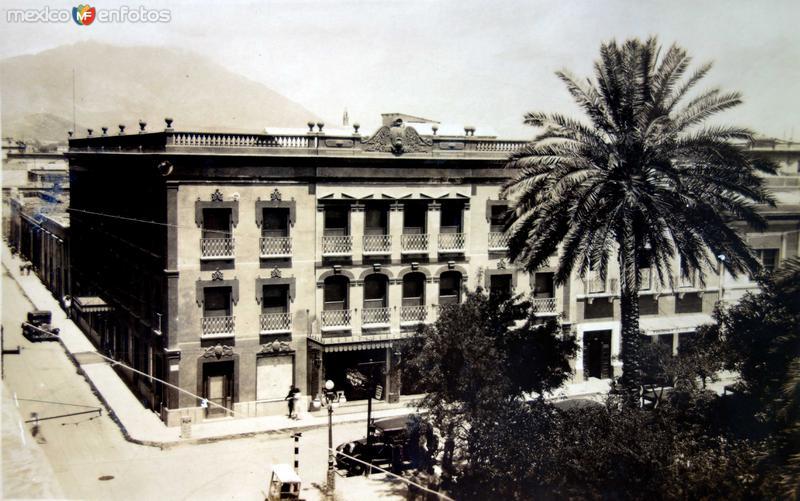 Edificio que hoy ocupa el Hotel Colonial