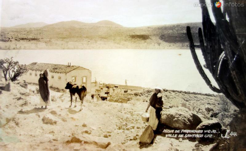La Hoya de Parangueo Viejo.