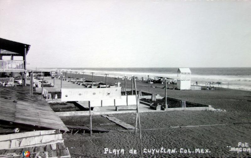 La Playa ( Circulada el 13 de Abril de 1940 ).