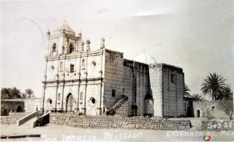 Mision San Ignacio ( Circulada el 13 de Noviembre de 1929 ) .