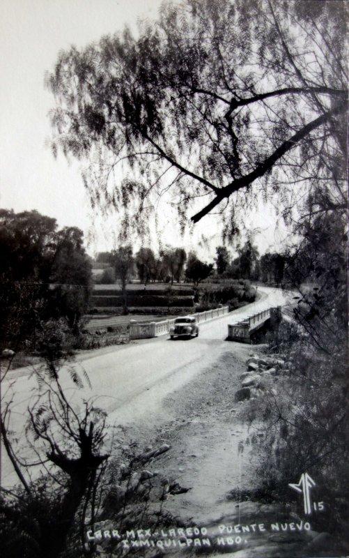 Carretera Mexico-Laredo.