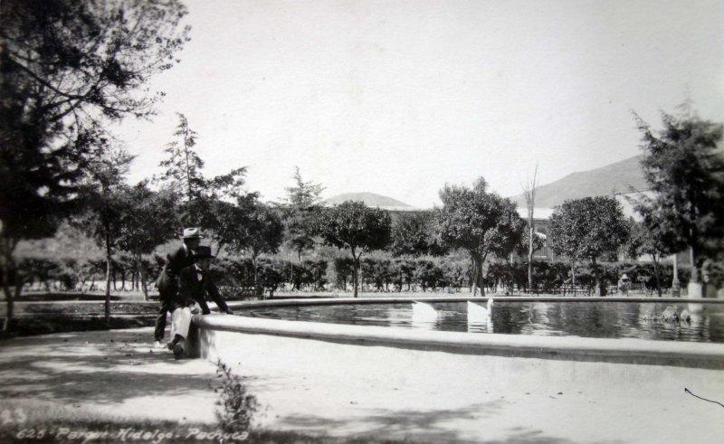 Parque Hidalgo.