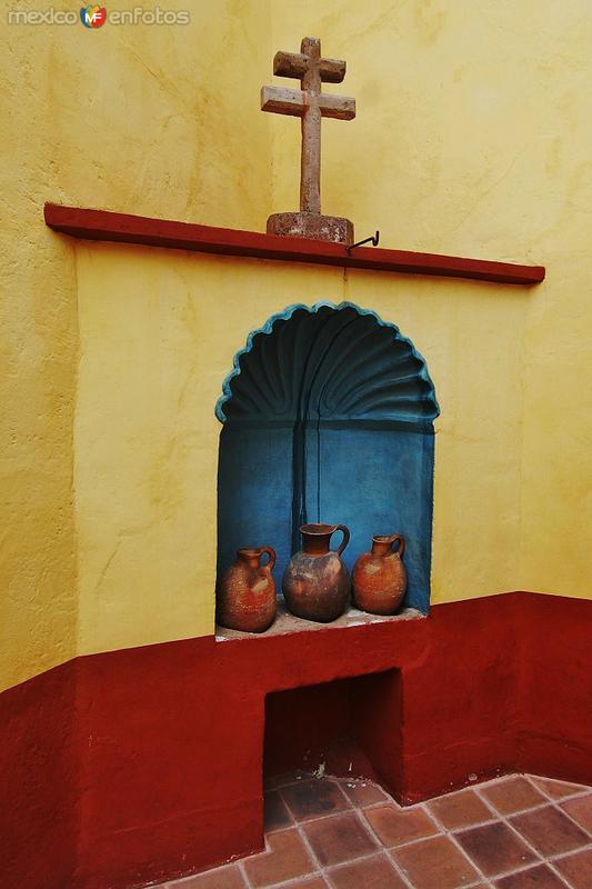 Detalle en la casa de Miguel Hidalgo