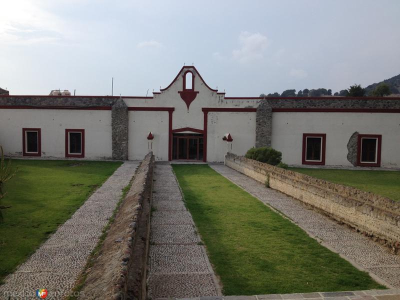 Casco de la ex-hacienda de San Juán Arcos Ojo de Agua. Abril/2018