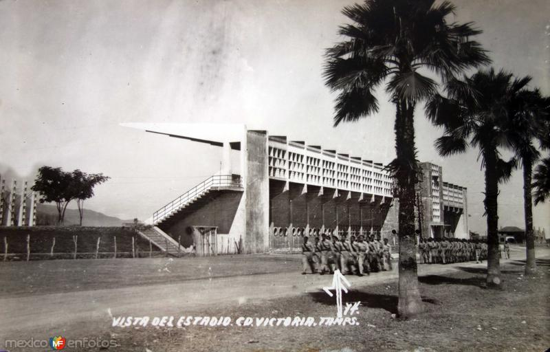 Vista del Estadio.