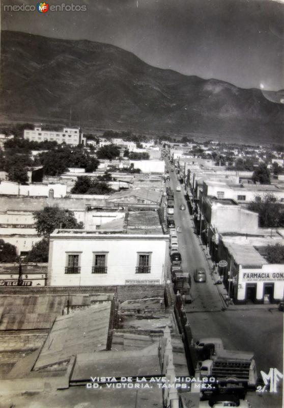 Avenida Hidaldgo.