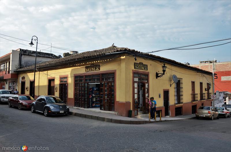 Calle Juan de la Luz Enríquez