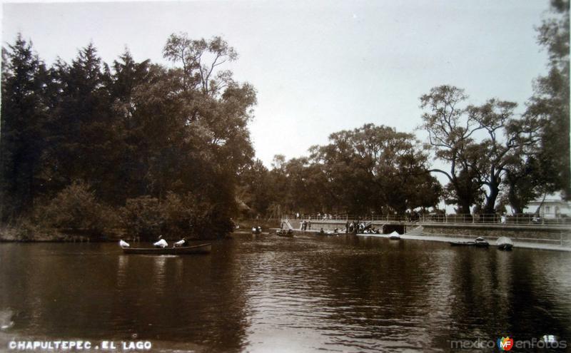 Chapultepec el lago.
