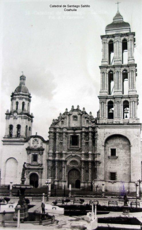 Catedral de Santiago Saltillo Coahuila.