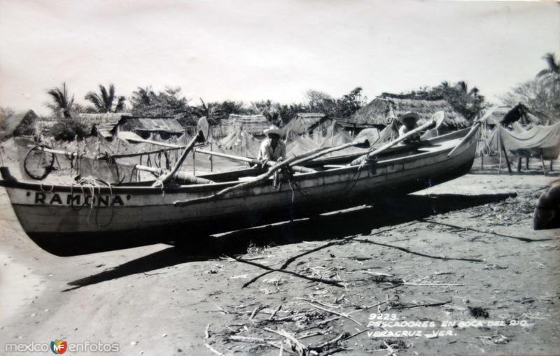 Pescadores de Boca de el Rio..