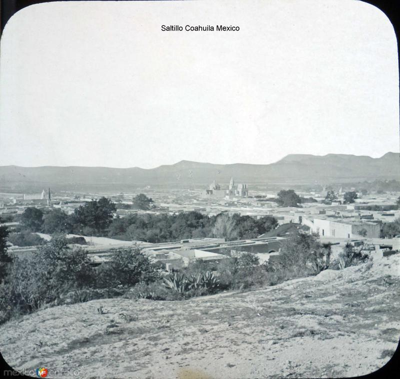 Panorama de Saltillo Coahuila Mexico .