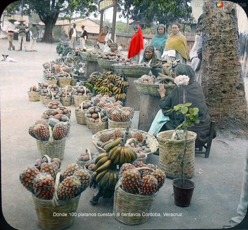 Donde 100 platanos cuestan 8 centavos Córdoba, Veracruz