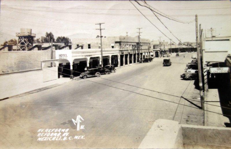 Avenida Reforma ( Circulada el 7 de Febrero de 1946 ).