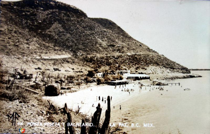 Punta Prieta ( Circulada el 2 de Febrero de 1946 ).
