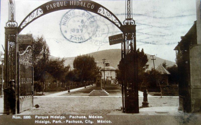 Parque Hidalgo 1937.