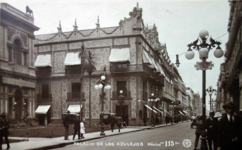 Palacio De Los Azulejos Ciudad De M Xico Distrito