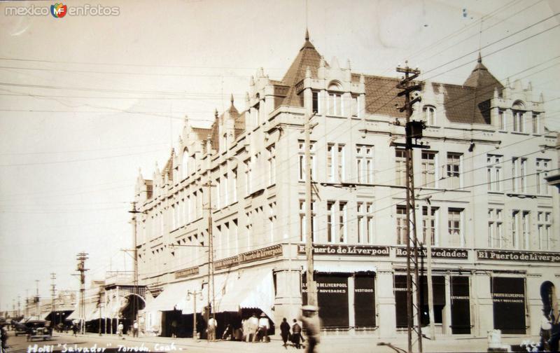 Hotel Salvador ( Circulada el 8 de Octubre de 1928 ).