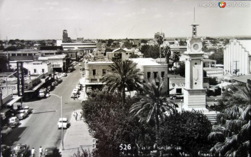 Vista Parcial ( Circulada el 9 de Marzo de 1958 ).