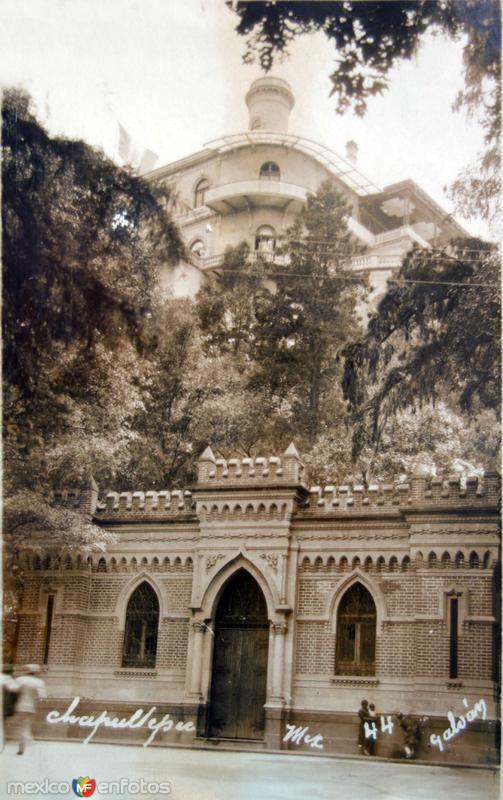 El castillo de Chapultepec.