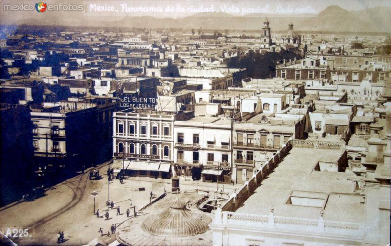 Panorama Vista Parcial lado norte.