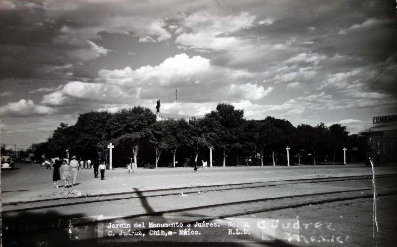 Jardin del Monumento a Juarez.