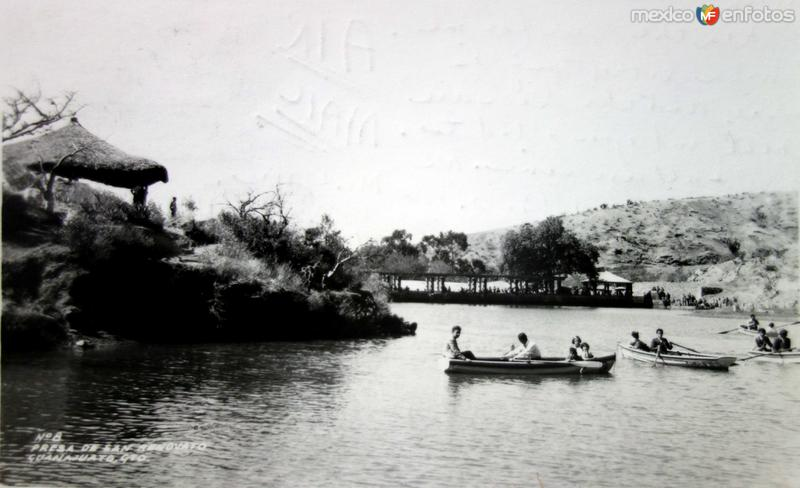 La presa de San Renovato.