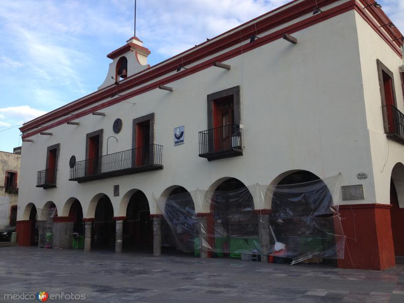 Palacio Municipal de Santa Ana Chiautempan. Junio/2018