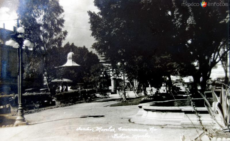 Jardin Morelos.