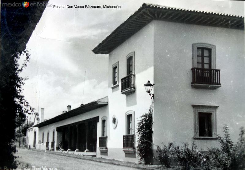 Posada Don Vasco Pátzcuaro, Michoacán.