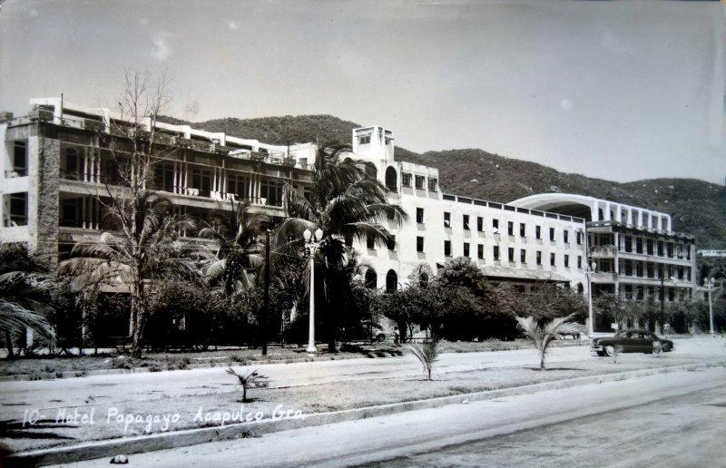 Hotel Papagayo ( Circulada el 10 de Julio de 1954 ).