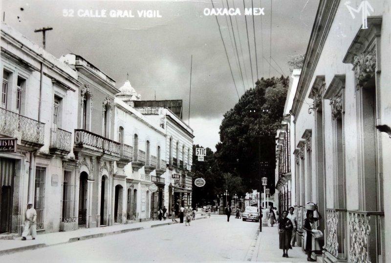 Calle general Vigil.