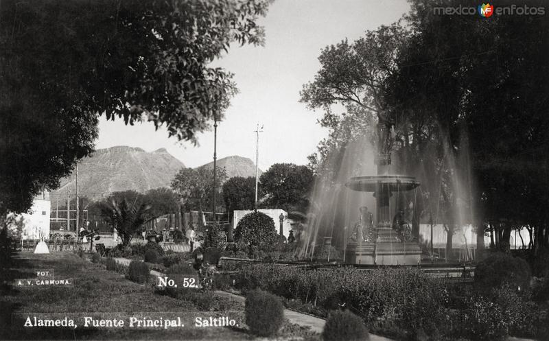 Fuente central de la Alameda