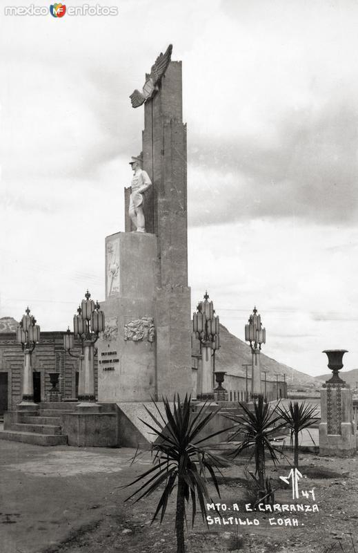 Monumento a Emilio Carranza
