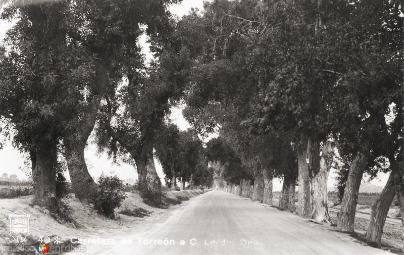 Carretera de Torreón a Lerdo, Durango