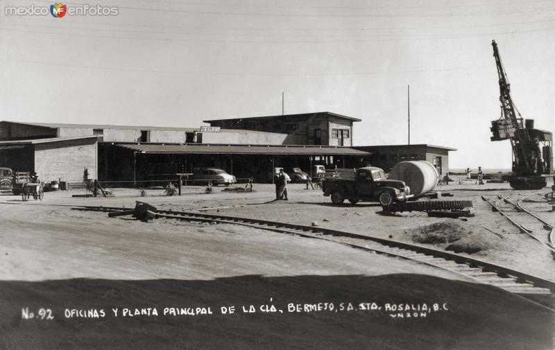 Oficinas y planta principal del compañía Mar Bermejo, S.A.