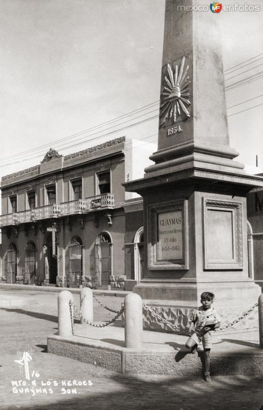 Monumento a los Héroes de 1854 en defensa de Guaymas