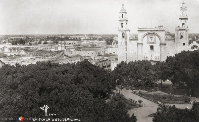 Plaza y Catedral del Mérida