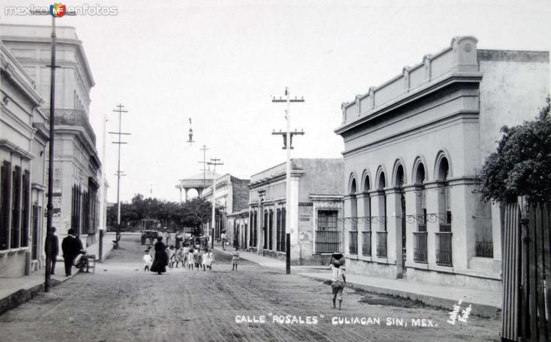 Calle Rosales.
