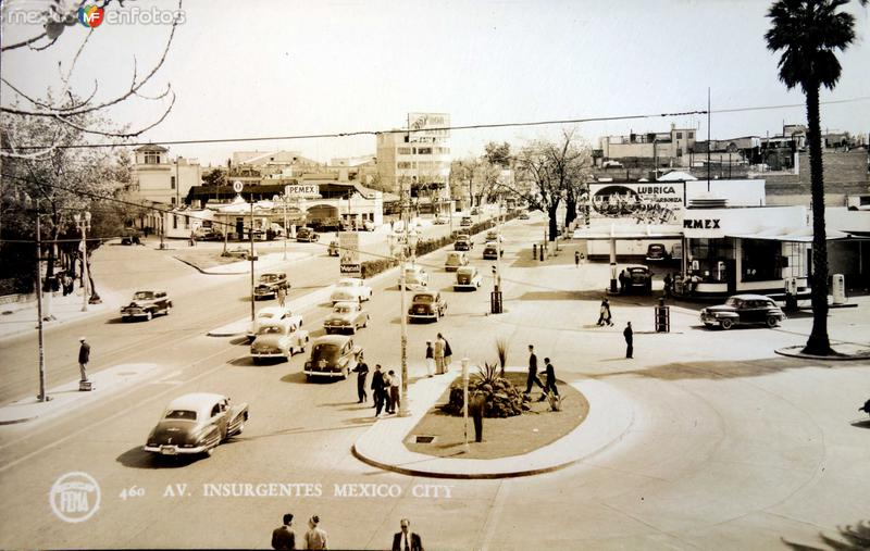Avenida Insurgentes.