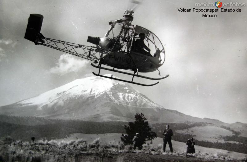 Volcan Popocatepetl Estado de México.