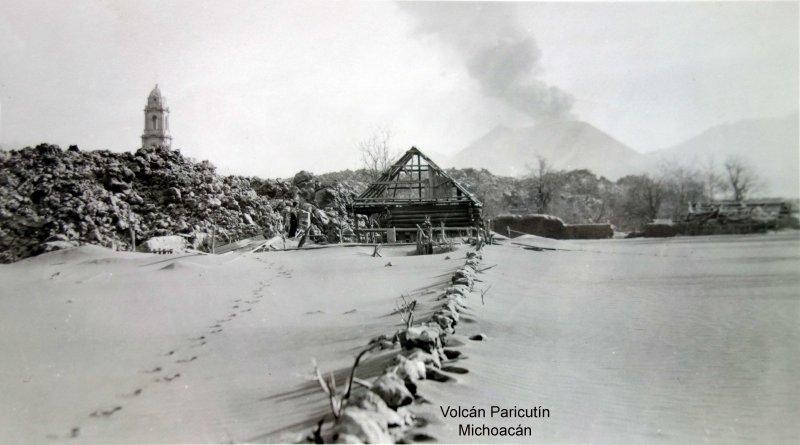 Volcán Paricutín Michoacán.