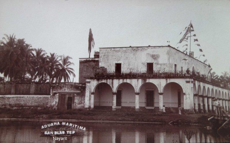 La Aduana Maritima .